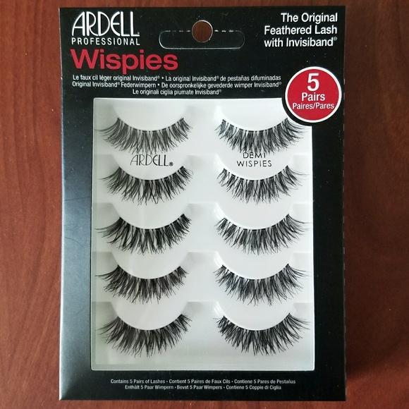 441a28be375 Ardell Makeup   Wispies False Eyelashes Set Of 5   Poshmark